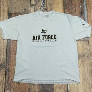 Air Force Academy White Tee by Champion size XL